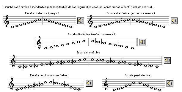Escalas musicales lo que todo músico debe saber