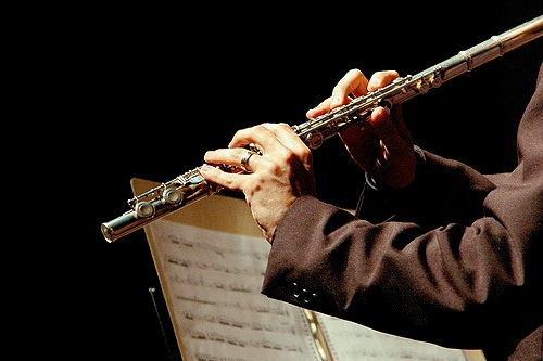 Así se toca la flauta transversal