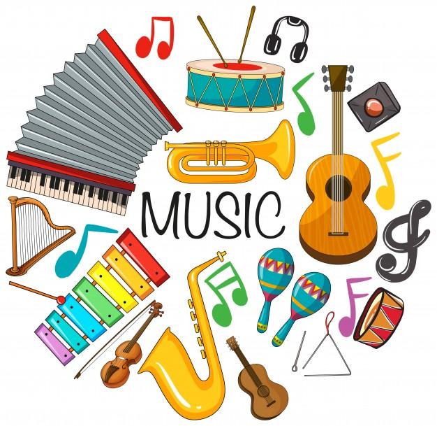 Así son los instrumentos musicales