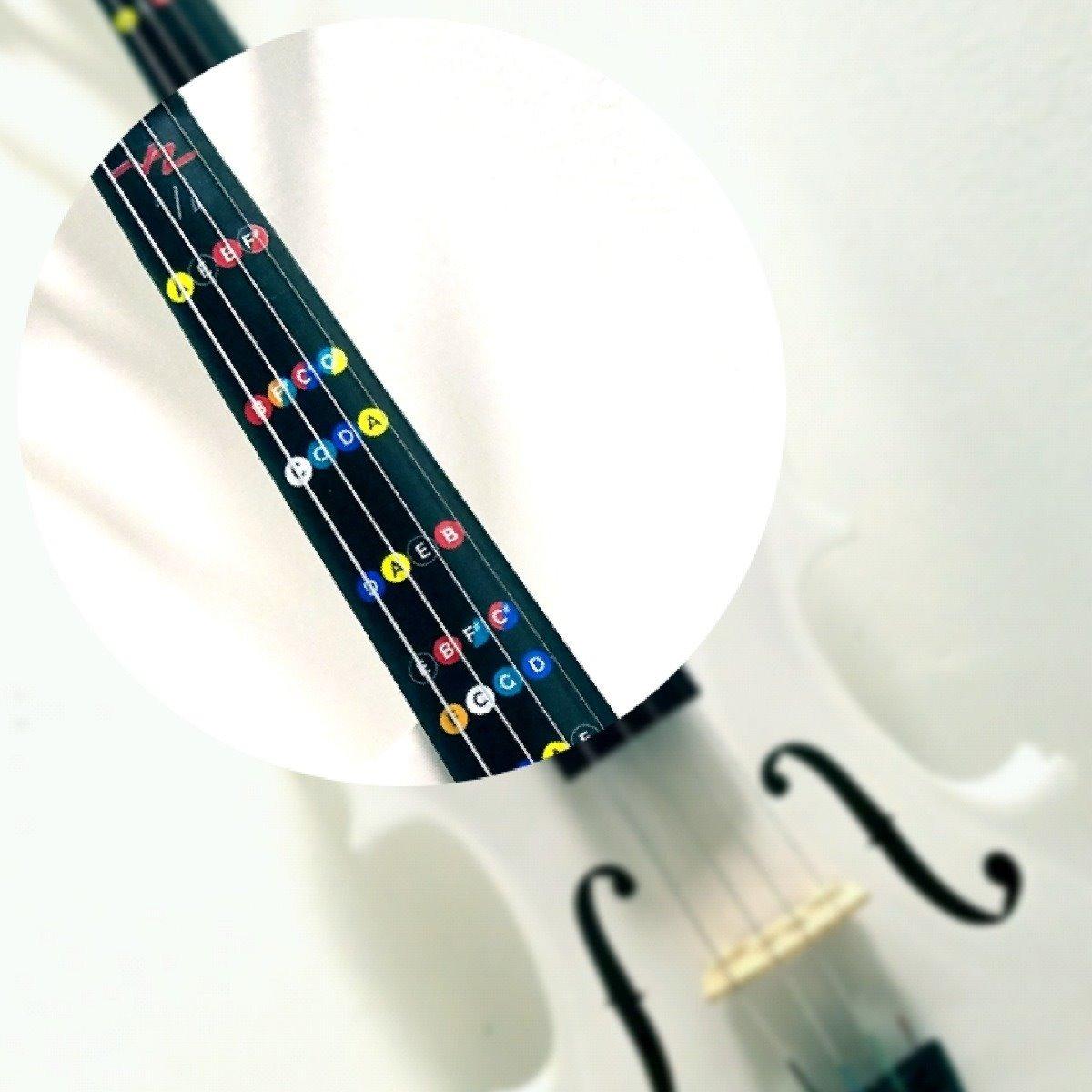 Notas del Violín