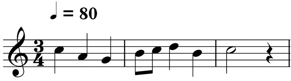 pentagramas en la música