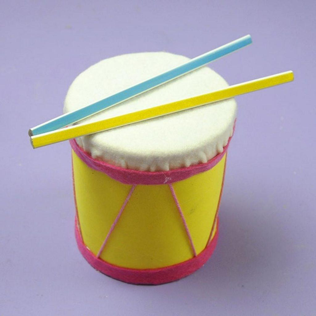 manualidad tambor